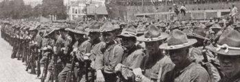 26 giugno 1917 – Prime truppe americane in Francia