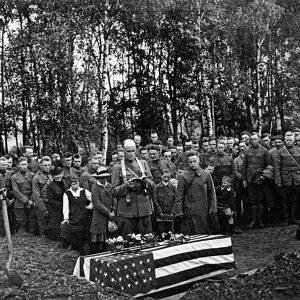 Cpl Duffy burial